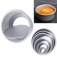 Aluminum Alloy Round Cheesecake Bread Baking Pan Chiffon Cake Mold Kitchen Tool