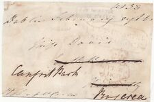 # 1833 PUT IN AFTER 6 O'CLOCK DUBLIN CROWN FREE FRONT TO ROSCREA IRELAND - IRISH