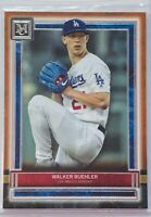 WALKER BUEHLER 2020 TOPPS MUSEUM COLLECTION COPPER CARD #44 LOS ANGELES DODGERS