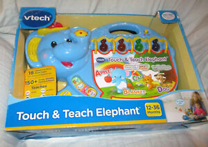 VTech Touch and Teach Elephant NEW IN BOX!