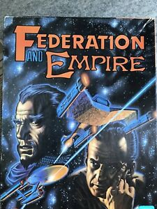 Federation And Empire : Task Force Games : Model 5006 : Open Box, Unplayed