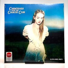 Lana Del Rey - Chemtrails Over The Country Club Vinyl Record LP - Red Vinyl
