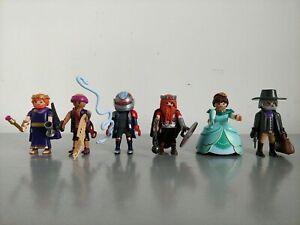 Playmobil The Movie Series 2 Figures Bundle x 6 - Nola, Marla, Sven, Doubletooth