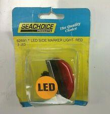Seachioce   LED  Side Marker Light- RED   Part # 50-52691