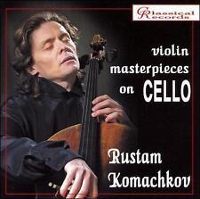 `Komachkov, Rustam`-Violin Masterpieces On Cello  (UK IMPORT)  CD NEW