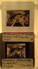 "Van Doesburg ""Cafe L'Aubette Strasbourg"" Dutch De Stijl Architecture 35mm Slide"