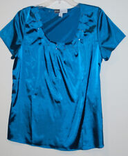 New womens Simply. Chloe Dao Blouse with Pleat Detail  Embellishment  Small 8 10