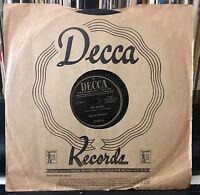 BILLIE HOLIDAY  No More / You Better Go Now 1946 DECCA 23483  plays V+