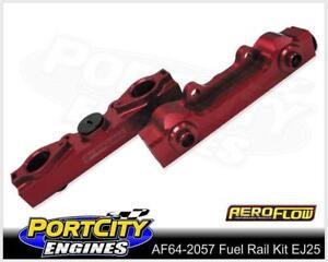 Aeroflow Alloy EFI Fuel Rail Kit for Subaru 4cyl EJ25 Outback Liberty 2.5L