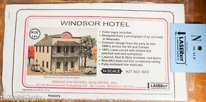 American Model Builders N #643 Wondsor Hotel (Kit) We combine Ship :)