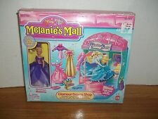 MELANIES MALL GLAMOUR GOWNS SHOP 1996 SEALED PACKAGES WITH BOX INCLUDES DOLL