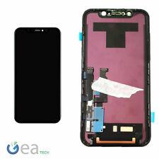 APPLE Display ORIGINALE Per iPhone XR LCD + Touch Screen Vetro NERO Genuine