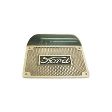 Model T Ford Running Board Step Plate - Highly Polished Brass - Ford Script -