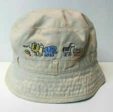 GYMBOREE 0-3  3-6 Months Summer Hat Jungle Friends Infant Boy Bucket Sun Beach