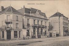 MIRECOURT caisse d'épargne pharmacie café brasserie de colmar écrite 1915