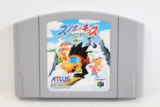 Snowboard Kids 64 Nintendo N64 Japan Import US Seller SHIP FAST E1159