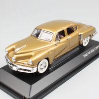 1/43 Scale old 1948 Tucker 48 Torpedo sedan diecast model car toy road signature