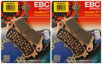 EBC Double-H Sintered Metal Brake Pads FA261HH (2 Packs - Enough for 2 Rotors)