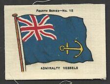 ARDATH - FLAGS 4TH SERIES (SILK) - #15 ADMIRALTY VESSELS