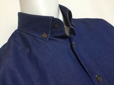 "Circle of Gentlemen  15 1/2"" Collar  43 1/4"" Chest  Soft Denim Shirt  RRP £149"