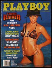 Playboy US 8/1999 August 1999 Lara Croft nude Rebecca Scott Shannon Elizabeth