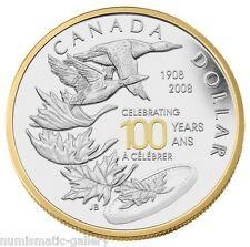 CANADA SPECIAL EDITION 1 DOLLAR  2008 ROYAL CANADIAN MINT CENTENNIAL PCGS PR69