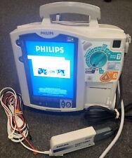 Philips Heartstart Mrx Defibrillator Ecg Spo2 Bp