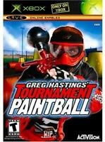 Greg Hastings' Tournament Paintball XBOX Game Used Complete