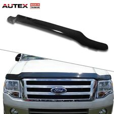 AUTEX Smoke Acrylic Stone & Bug Deflector Shield Fits 07-17 Ford Expedition