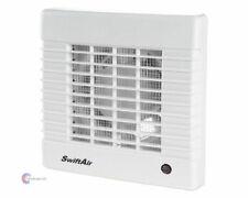 "SAQ 4"" 5"" 6"" PIR Sensor Timer Low Noise Quiet Extractor Shower Bathroom Fan"
