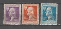 S36306 Eritrea 1927 MNH Time Saxon 120/22 3v