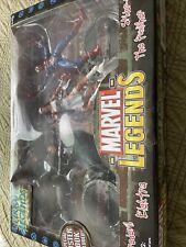 New, Sealed Marvel Legends Urban Legends Daredevil Spider-Man Punisher Elektra