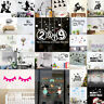 2019 Removable Art Vinyl Mural Home Room Decor Wall Stickers Decals Decoration