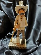Wood Carving Cowboy