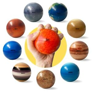 Planets For Kids Solar System Toys - Planet Balls  Stress Ball Balls For Project