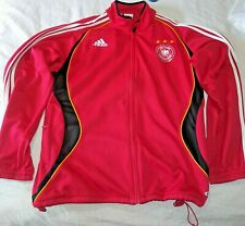DEUTSCHLAND Red Soccer Jacket Size Large - Track Germany