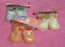 VTG PREMIER DOLL ACCESSORIES CO Unopened DOLL SHOES 777XL Pink Blue White U-PICK