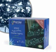 Premier 2000 MULTI-ACCIÓN LED Blanco Racimo Navidad Árbol luces interior