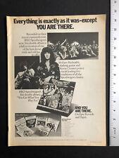 "Reo Speedwagon 1977 Original 11X14� Album Release ""Live� Primo Ad"