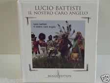 """LUCIO BATTISTI """"IL NOSTRO CARO ANGELO""""   CD LIBRO MOGOL EDITION"""