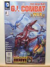 G.I. Combat #1 the new 52  D.C. Universe Comics CB4441