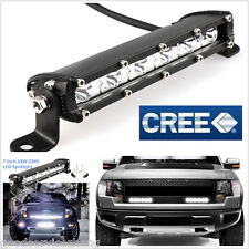 "18W 7"" Cree LED Work Light Bar Spot Beam Offroad 4WD UTE SUV Fog Driving Lamp"