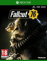 Fallout 76 Xbox One PAL UK New and Sealed