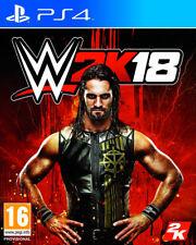 JUEGO  TAKE TWO  PLAYSTATION 4  WWE 2K18  NUEVO (SIN ABRIR)