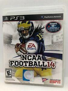 NCAA Football 14 (PlayStation 3, 2013) Complete