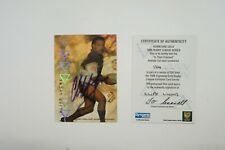 1996 Rugby League Signature Gold Acetate Signature card Cliff Lyons #123/200
