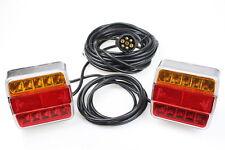 LED Rückleuchten Set 7 polig Magnet verkabelt PKW Anhänger Beleuchtung Rücklicht