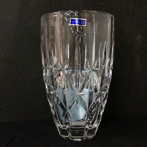 Marquis by Waterford Sparkle 9'' Vase Made in Germany #454