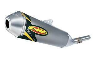 FMF Racing Q4 Spark Arrestor Slip-On  Stainless Midpipe 42321*