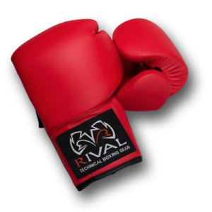 Rival Red Autograph Boxing Gloves